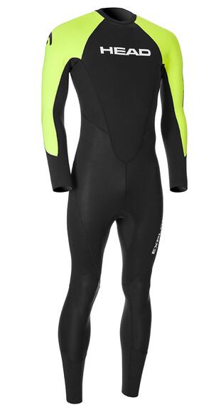 Head M's Explorer 3.2.2 Suit BK/LM